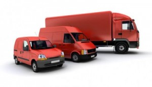 Courier Expert courier insurance red vehicles