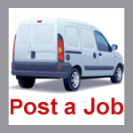Traded jobs to post for self employed couriers