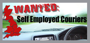 Self employed couriers wanted, join now.