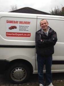 Harvey self employed courier for our Courier Network